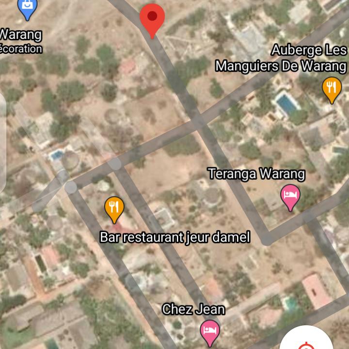 Terrain 900 mètre carré Mbour warang 6