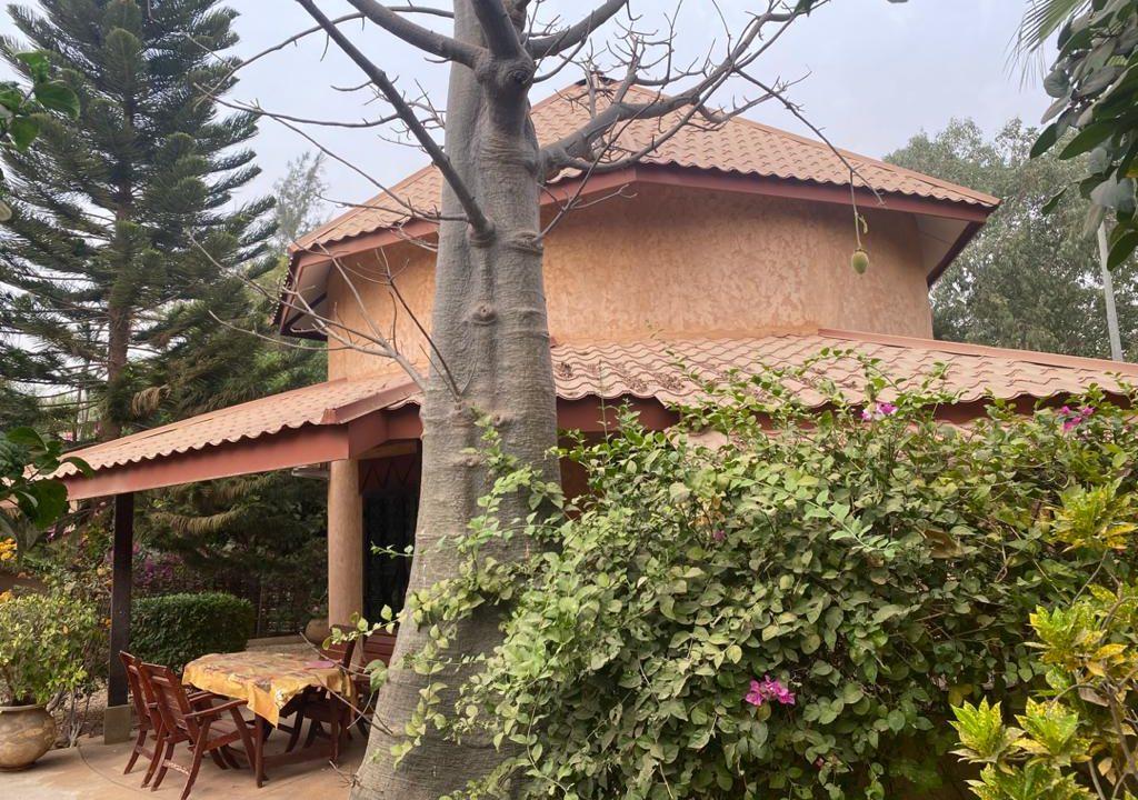 villa 2 chambres à vendre à saly résidence du port 24