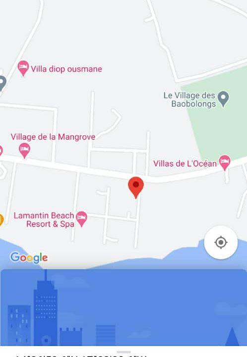 villa 2 chambres à vendre à saly résidence du port 3