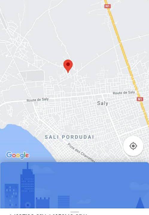 terrain 400 m2 à vendre à saly vélingara 6