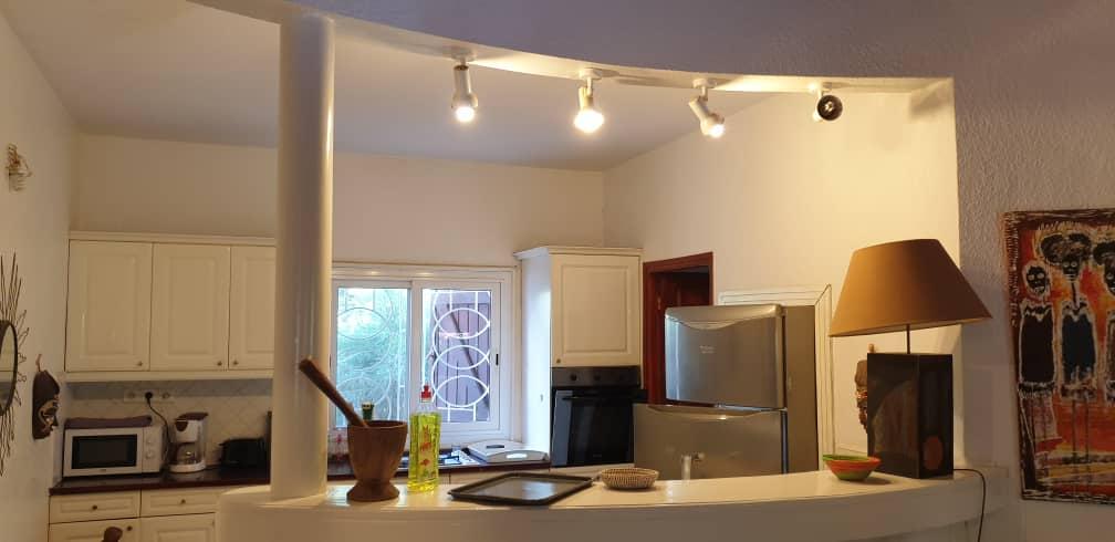 villa 3 chambres à louer en residence (tropical) à saly 1