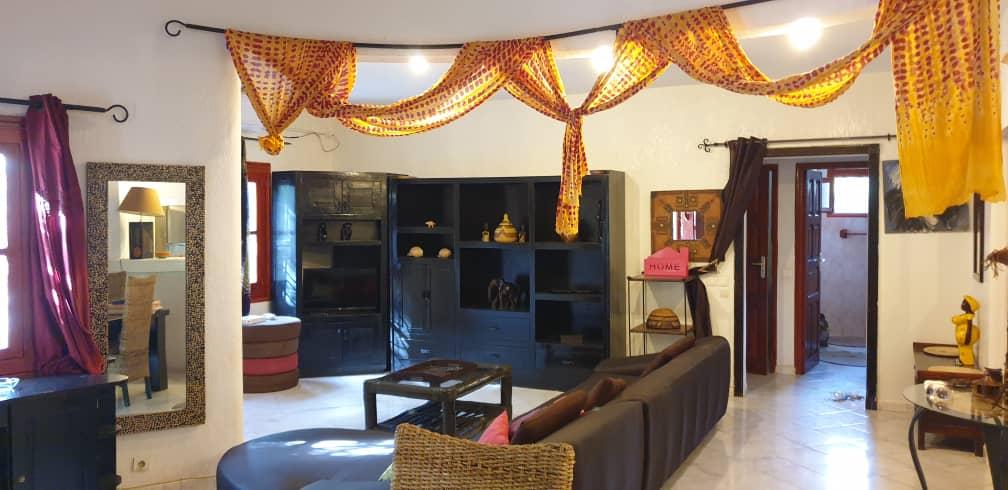 villa 3 chambres à louer en residence (tropical) à saly 13