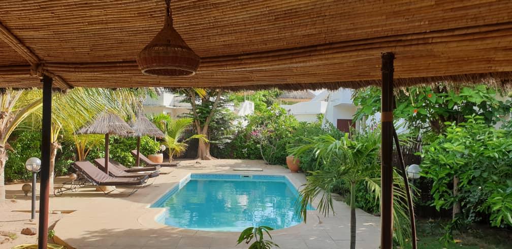 villa 3 chambres à louer en residence (tropical) à saly 2