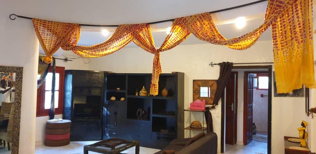 villa 3 chambres à louer en residence (tropical) à saly 3