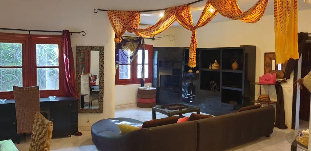 villa 3 chambres à louer en residence (tropical) à saly 4