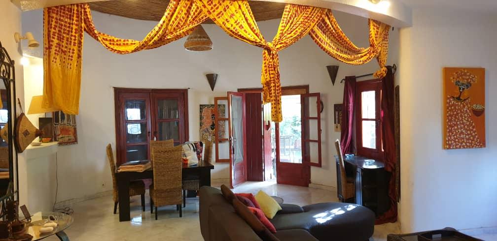 villa 3 chambres à louer en residence (tropical) à saly 8