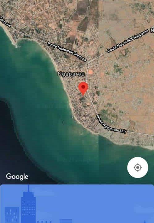 Terrain 8400 m2 à Ngaparou plage 2