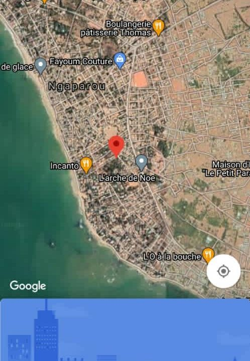 Terrain 8400 m2 à Ngaparou plage 3